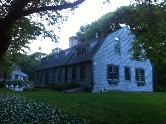 Historic home on 2 private acres