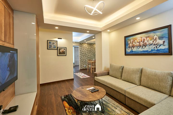 Quiet Spot @Patan |3BHK Apartment by Casa Deyra