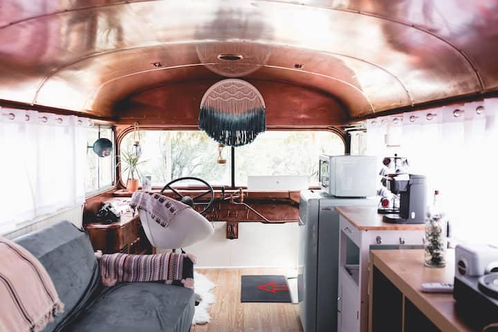 The WanderBus - unique, creative and cozy!