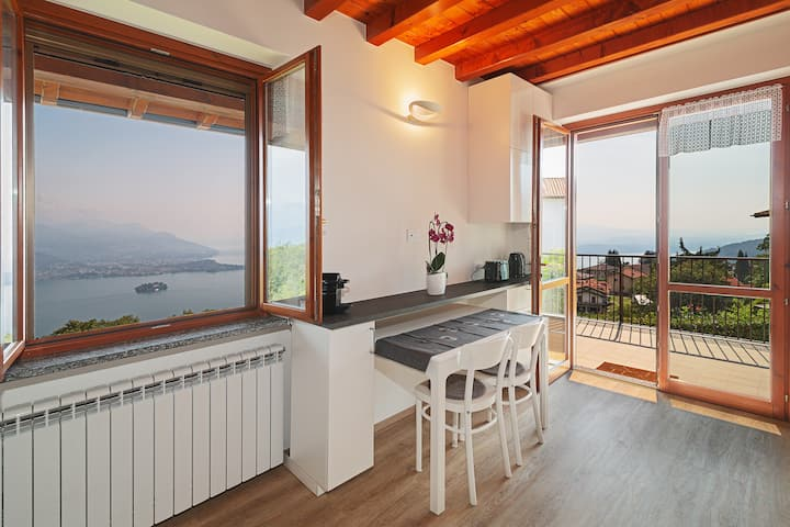 Casa Bella Vista Levo: a unique view over the Lake