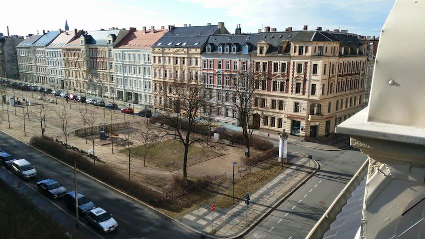 Ferienwohnung am schönen Lutherplatz - Görlitz - Lägenhet
