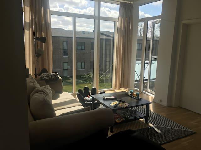 Hyggelig lejlighed tæt på København. - Hedehusene - Byt