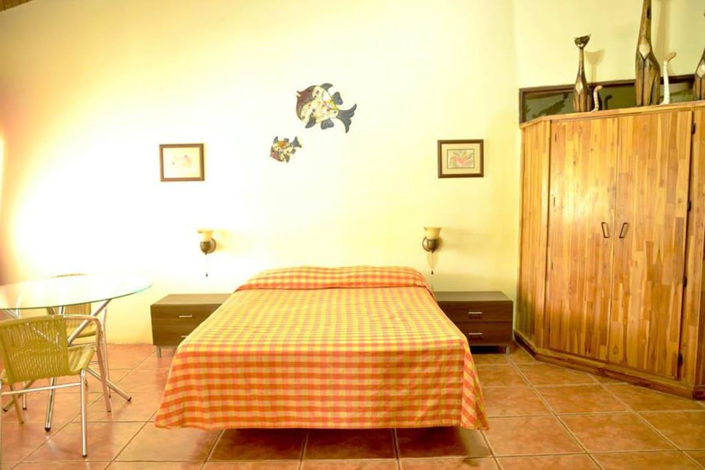 Yellow Villa Bedroom