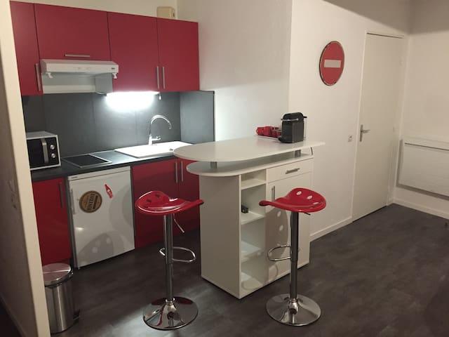 appartement T1 très agréable, 2 couchages doubles - Limoges - Apartment
