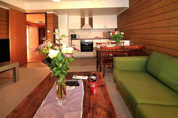 Sentrumsnær leilighet, Lyngdal