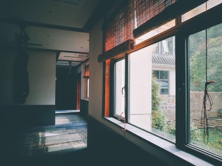 庐山南山半山雅居·观木斋·双床房Lushan Guanmuzhai Villa Twin room
