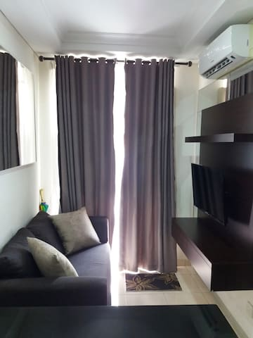 Cozy 1 BR apartment in South Jakarta