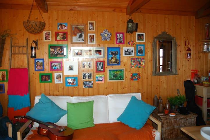 Vista da Sala View of the living room