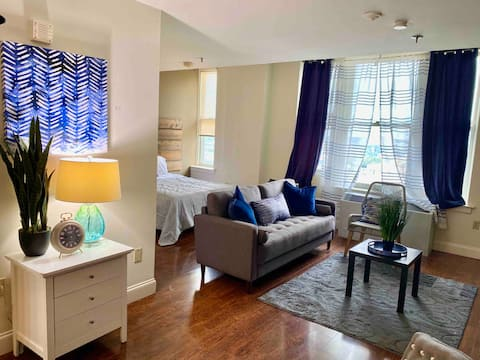 🌟Smart TV Fast WiFi 1 BR Apt in Downtown - Beale