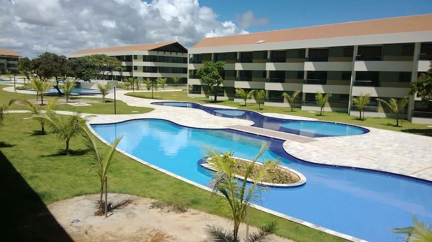 Flat em Resort Praia dos Carneiros - Tamandaré - Huoneisto