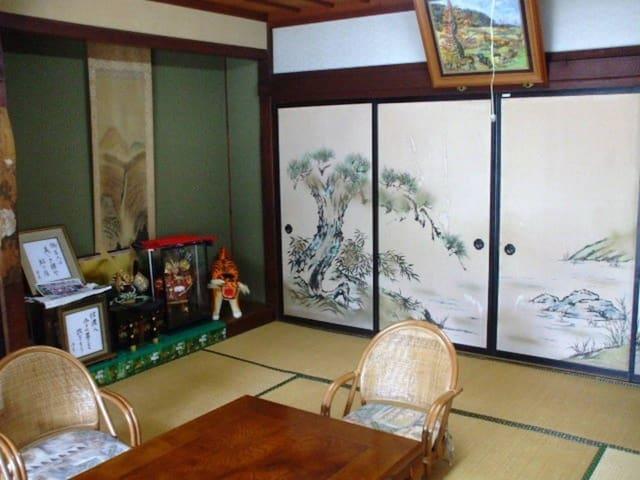 SEIUNKAN 150yr-old Farmer's Guest SHOIN Tatami - Komoro-shi - Aamiaismajoitus