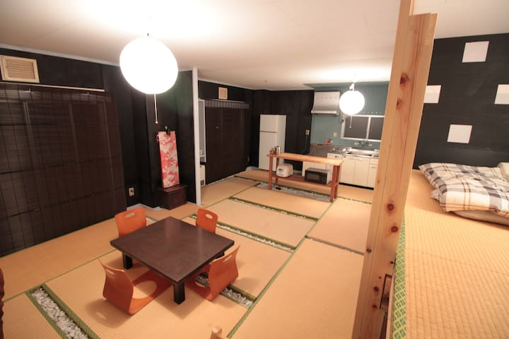 Hakone Private Villa with Hot spring spa, Max10pax
