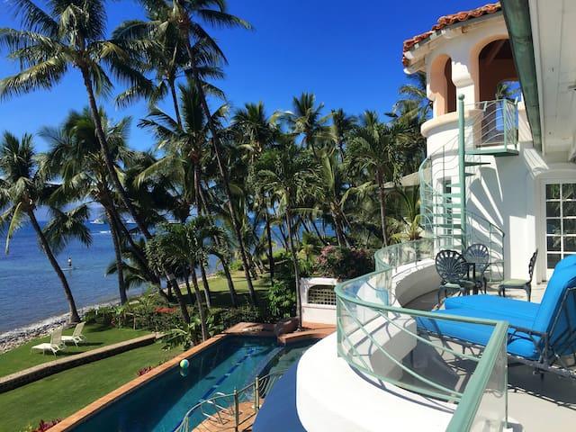 Paradise on the beach in Maui.  Blue Sky Villa.