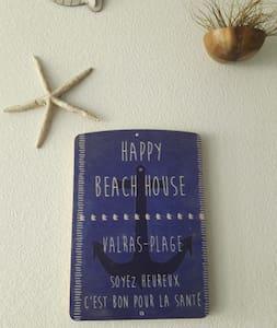 HAPPY BEACH HOUSE - Valras plage  2/4/6 personnes