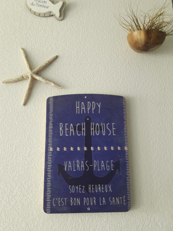 HAPPY BEACH HOUSE - Valras plage  2/4/6 personnes
