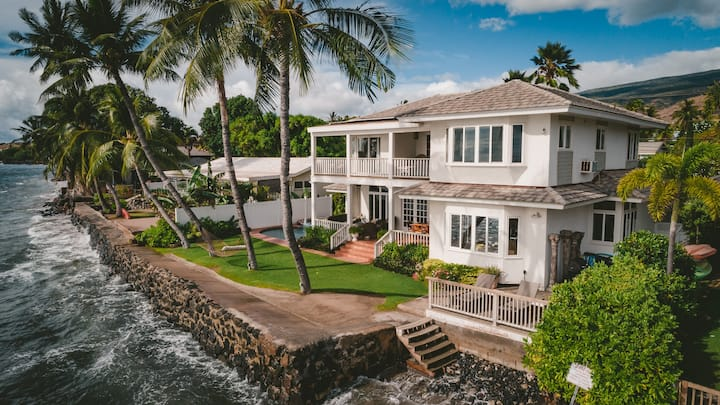 Maui Oceanfront Safe Haven 5 Bedroom