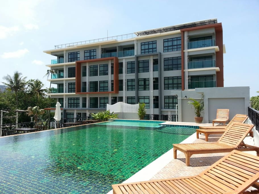 Spacious One Bedroom Apartment Near Bang Tao Beach Apartments For Rent In Tambon Choeng Thale