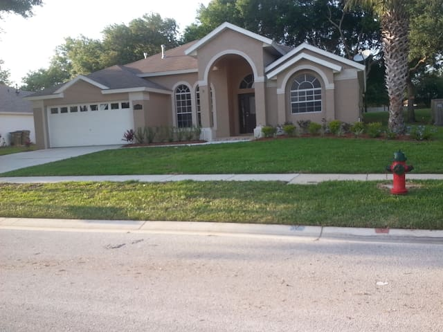 Beautiful one story, 4/3 home, located on a cul de sac in Greater Groves Community