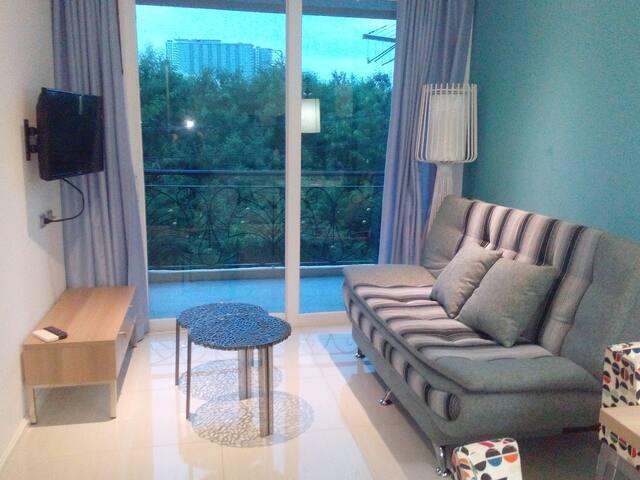 Atlantis 1bedroom 4 floor in best pool condo - Muang Pattaya - Apartment