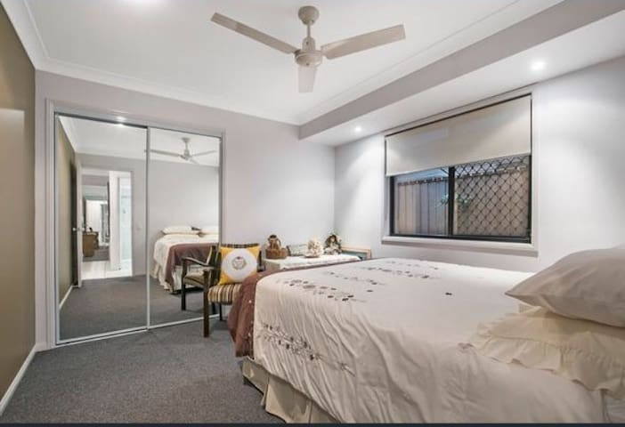 One shared bedroom