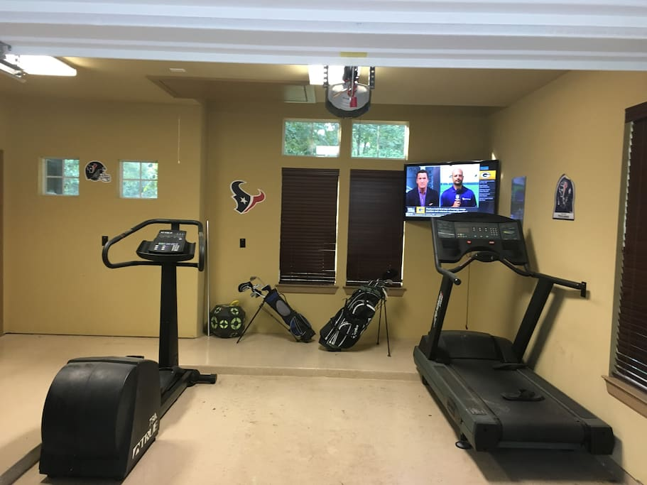 Work Out Equipment Available