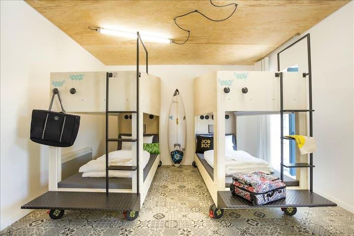 JO&JOE - Private Bedroom for 4 people
