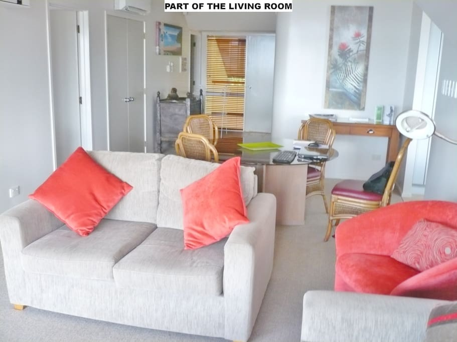 Part of lounge.