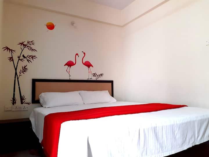 Single Room with Wifi-Balcony-Bannerghatta Road