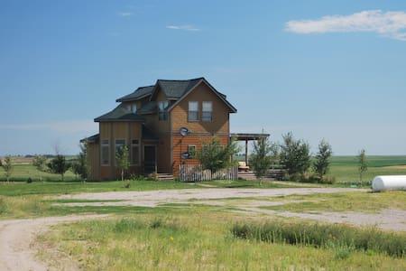 Aug 2017 Eclipse-Viewing Ranch Home, Stapleton, NE - Stapleton - 独立屋