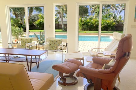 Luxury Home, Heated Pool -- 2 Blocks to Beach - Melbourne Beach - Hus