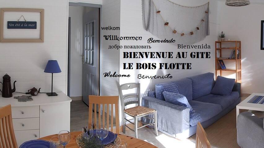 Gite Le Bois Flotté, cosy et tout équipé