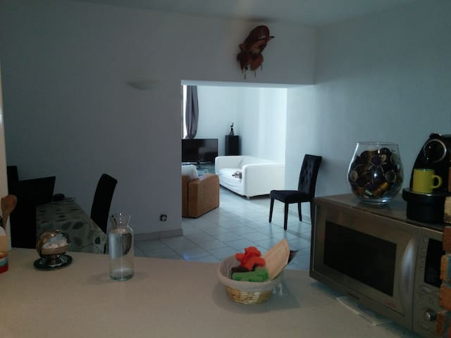Bel appartement en centre ville d'Orange - Orange - Lägenhet