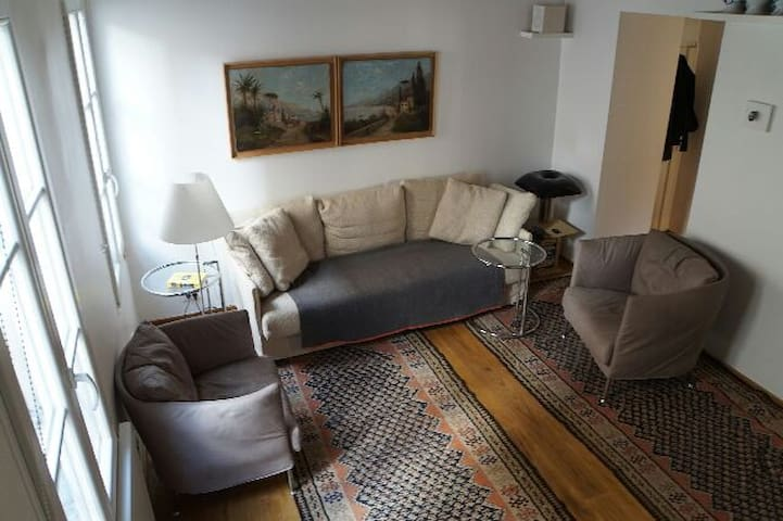 Quiet luxury for two in the Marais