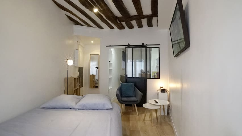 Very nice studio completely renovated. Paris heart