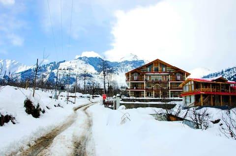 Apple Orchard Villa-2BHK Apartment| Best Snow View