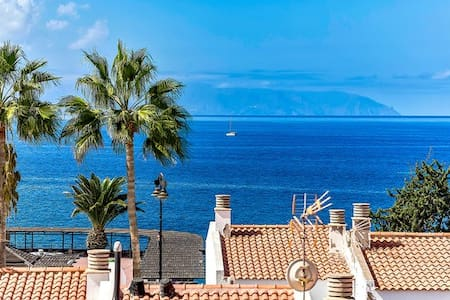 APARTMENT WITH SEA VIEW,100 METERS FROM SEA - Santiago del Teide - Apartment