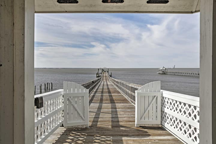 Waterfront Home w/ Dock - 31 Mi to Downtown NOLA!