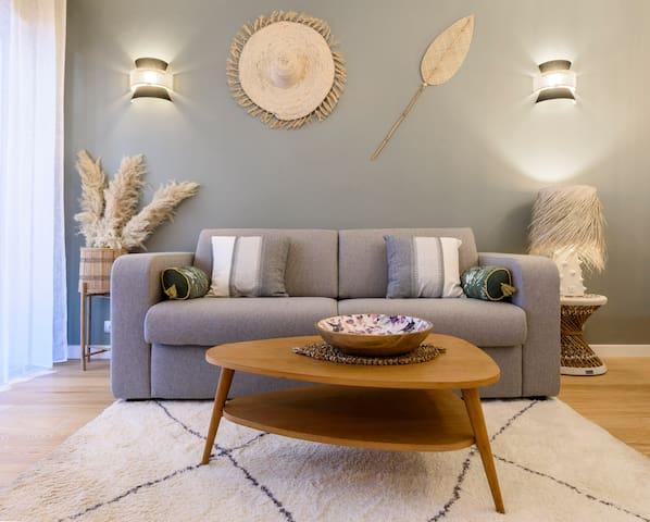 Canapé lit grand confort