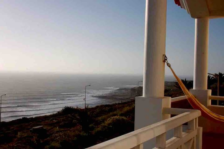 Best view of Ericeira. In front of Ribeira d'Ilhas