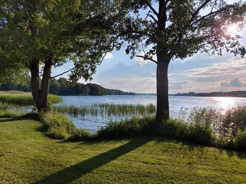 Idealne miejsce na relaks spokojne  piękna okolica