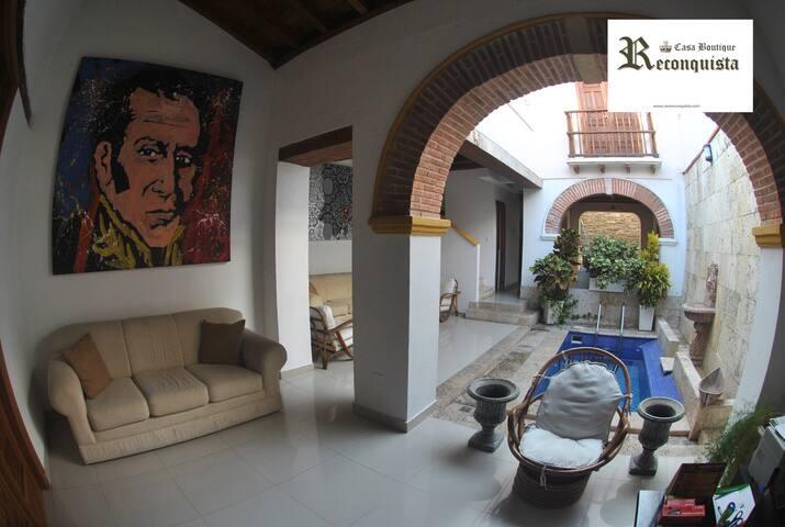 Mágica  Casa Colonial en Centro Cartagena - Cartagena - House