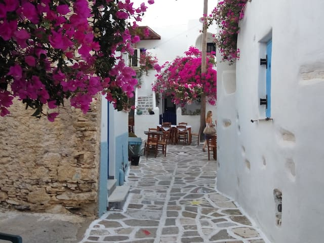 Prodromos traditional house 1-6 persons - Paros - Hus