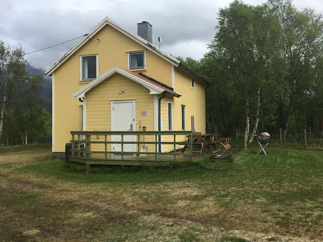 Cabin, Skibotn: Northern Lights, 90 min to Tromsø