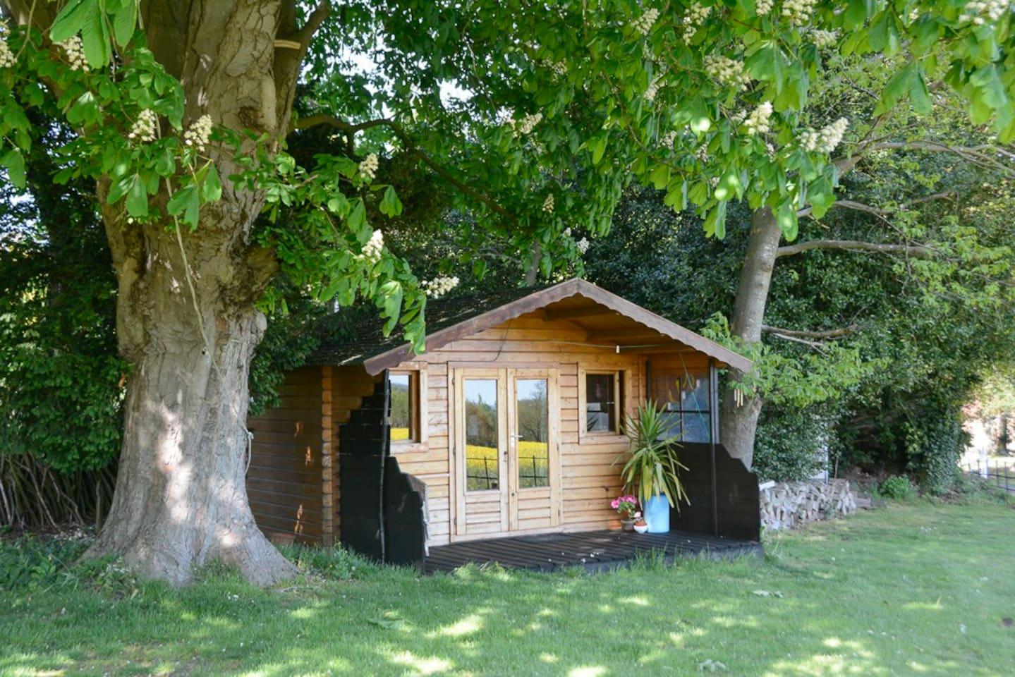 Delightful cabin in beautiful surrounds