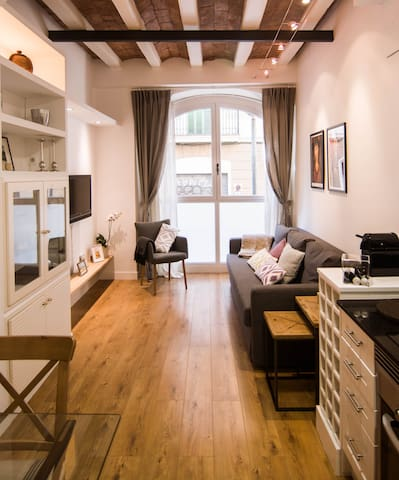 Cosy apartment 20m Sagrada Familia (HUTB-(PHONE NUMBER HIDDEN)) - Barcelona - House