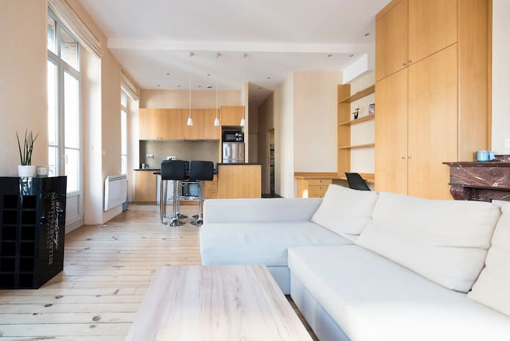 Appartement hypercentre design et lumineux