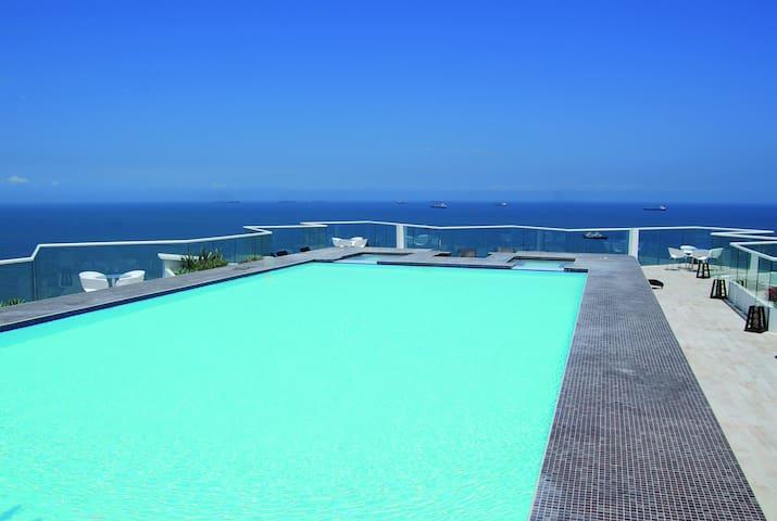 Espectacular apartamento con vista al mar. - santa marta - Apartmen