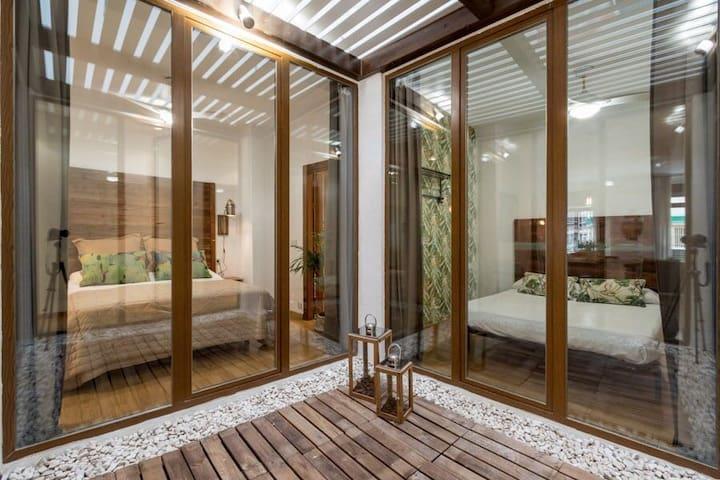 Amplio piso Alhondiga