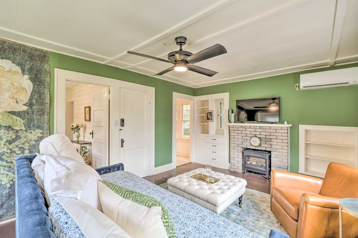 NEW! Gainesville Cottage w/Sunroom & Covered Porch