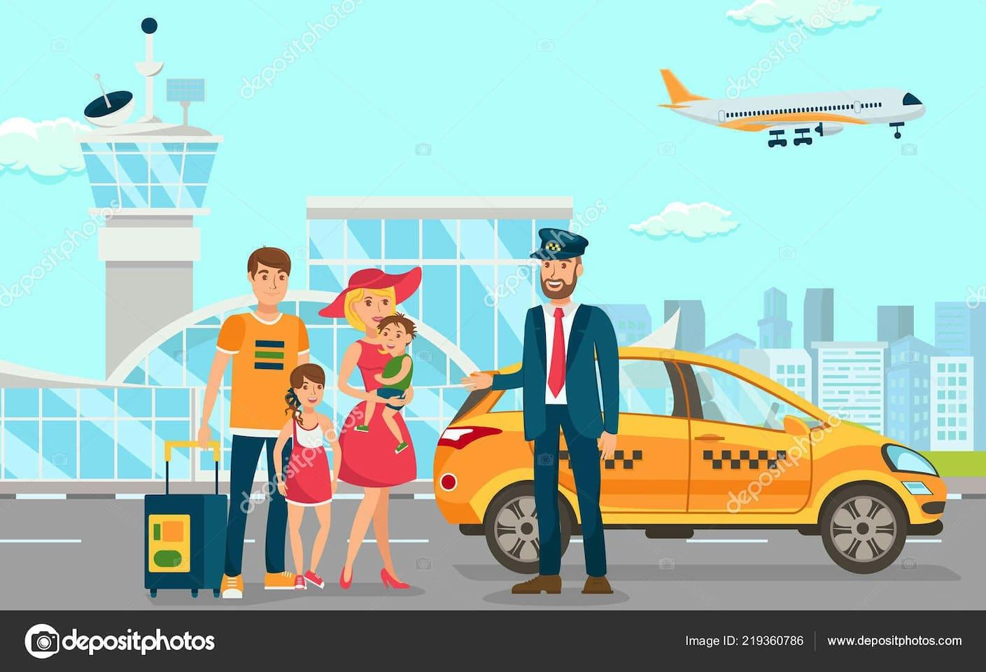 Servicio de Taxi previa reserva a los aeropuertos de Tanger ;Tetúan y puertos cercanos;aduana de ceuta.